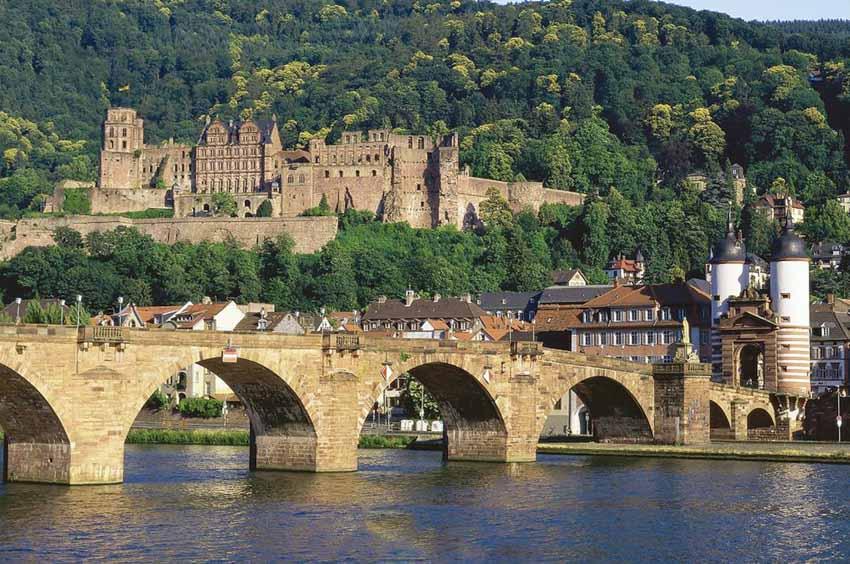 Ngỡ ngàng trước lâu đài cổ Heidelberg ở Đức - 8