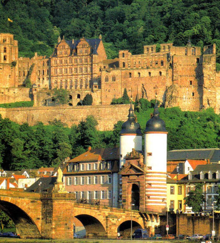 Ngỡ ngàng trước lâu đài cổ Heidelberg ở Đức - 7