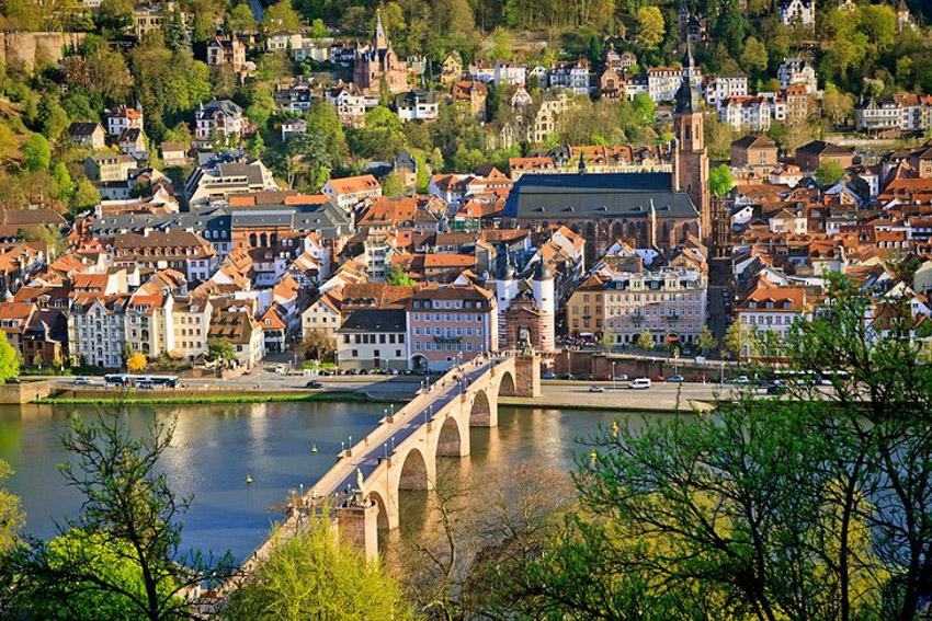 Ngỡ ngàng trước lâu đài cổ Heidelberg ở Đức - 1