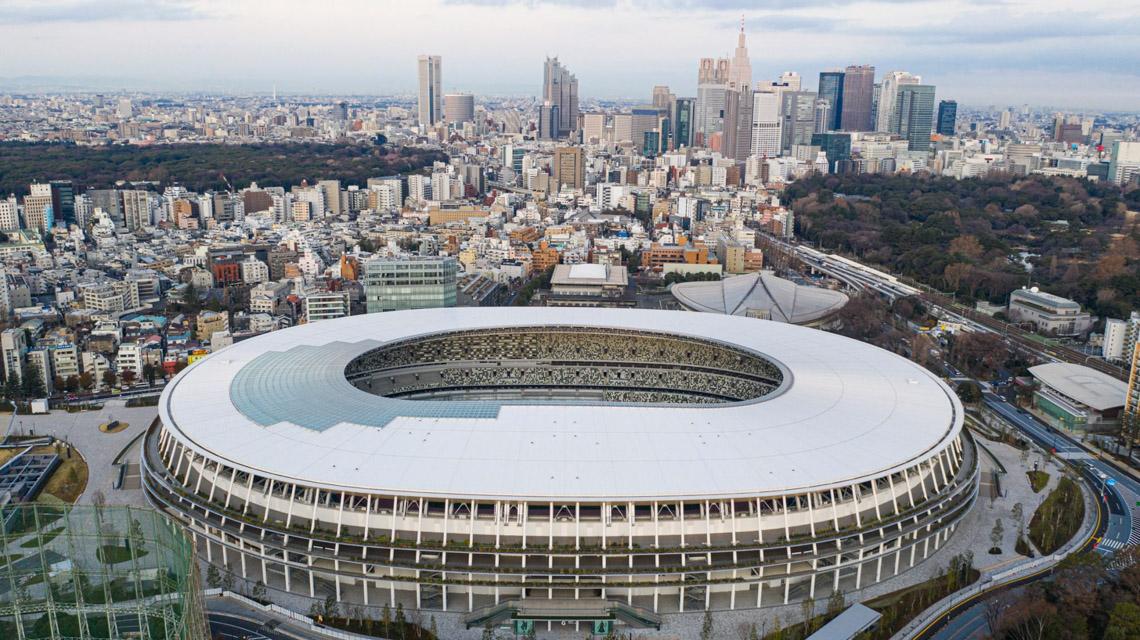 Sân vận động quốc gia Nhật Bản của Kengo Kuma