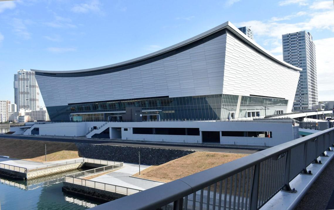 Ariake Arena của Kume Sekkei