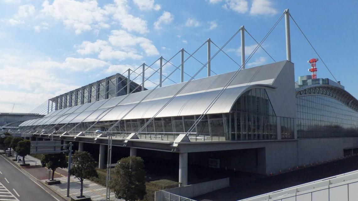 Makuhari Messe Hall của Fumihiko Maki