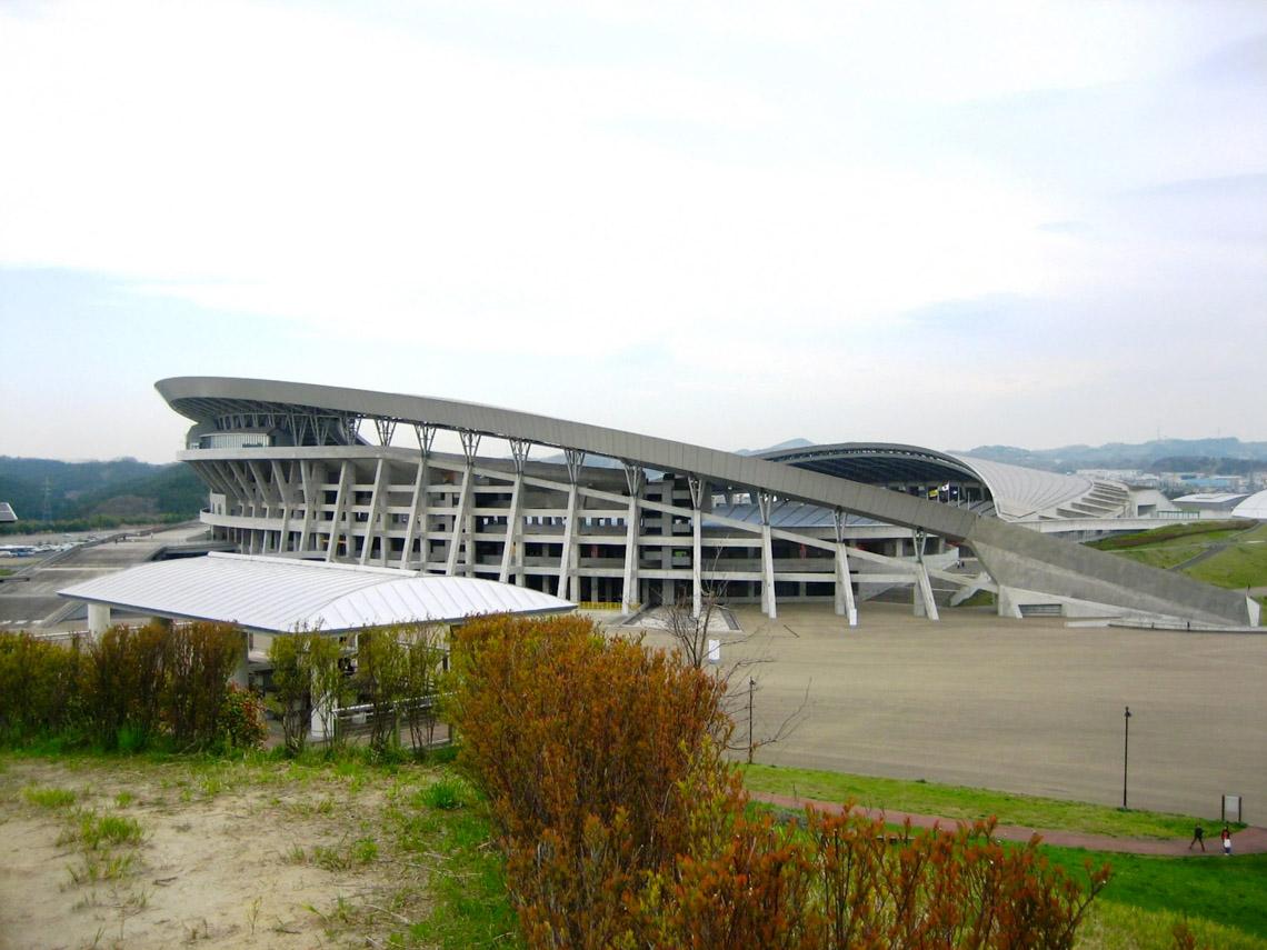 Sân vận động Miyagi của Shoichi Haryu và Hitoshi Abe