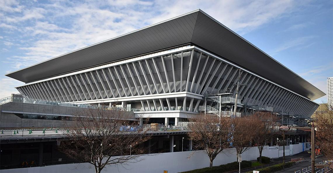 Tokyo Aquatics Centre của Yamashita Sekkei và Tange Associates