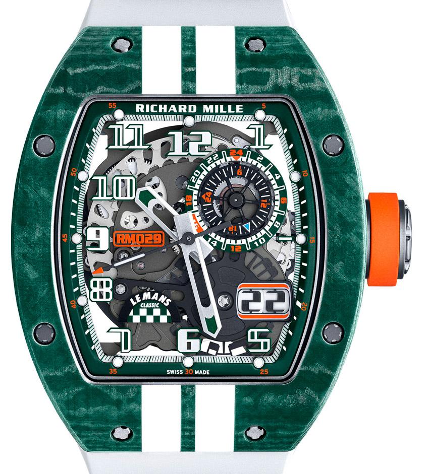 Richard Mille ra mắt phiên bản giới hạn RM 029 kỷ niệm sự trở lại của giải đua Le Mans - 4