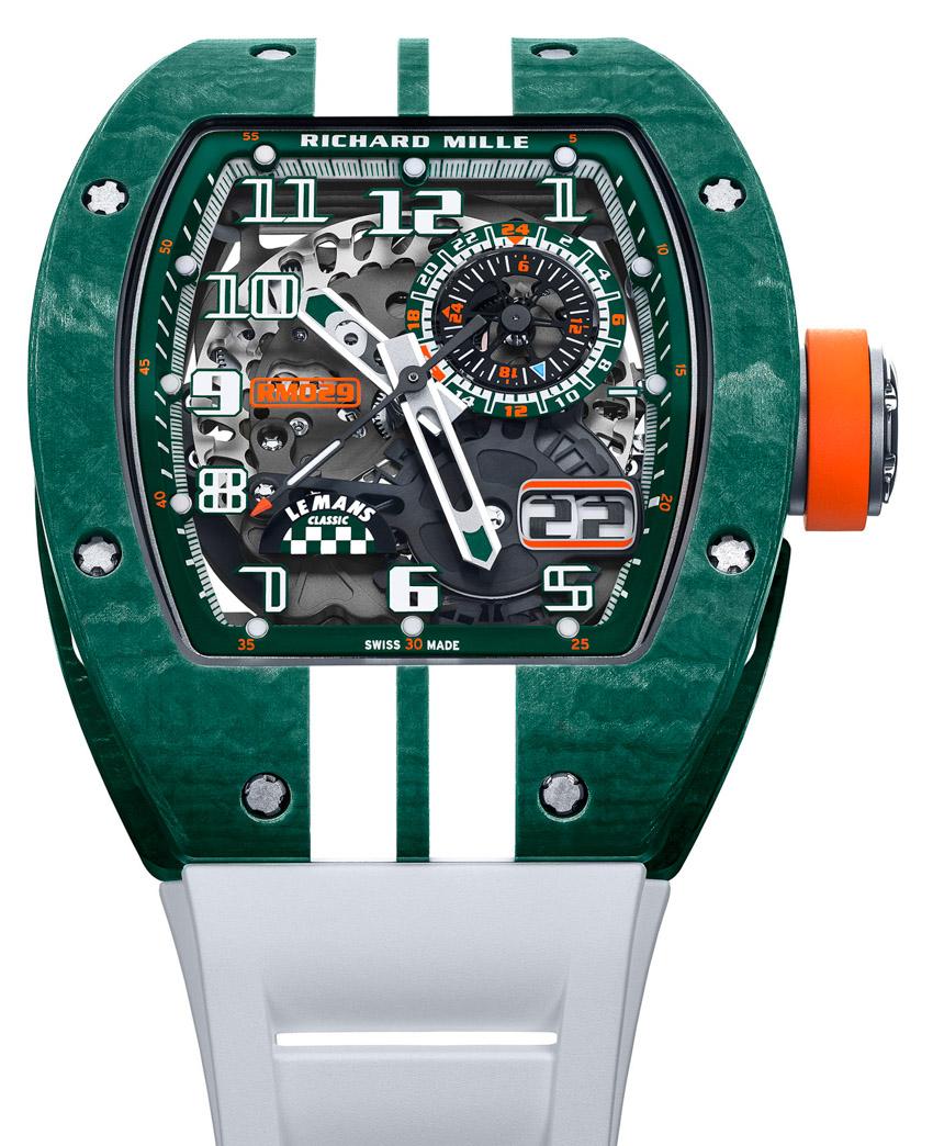 Richard Mille ra mắt phiên bản giới hạn RM 029 kỷ niệm sự trở lại của giải đua Le Mans - 2