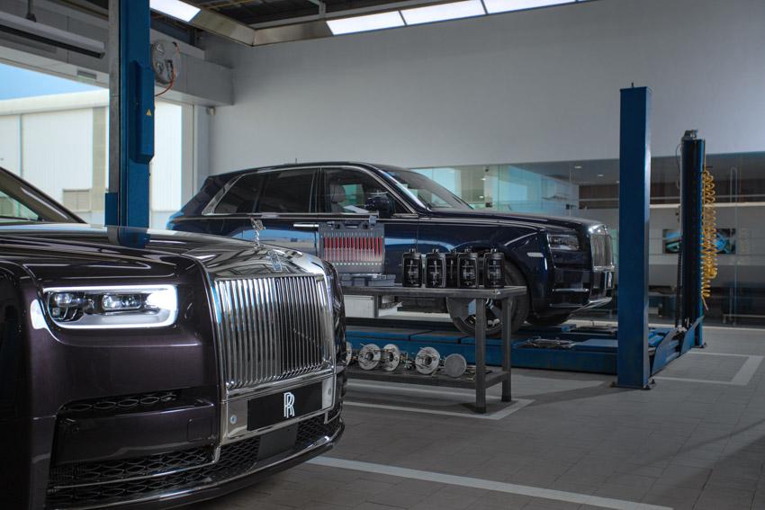 Những đặc quyền duy nhất chỉ có tại Xưởng Bảo Hành – Bảo Dưỡng Rolls-Royce ở Việt Nam