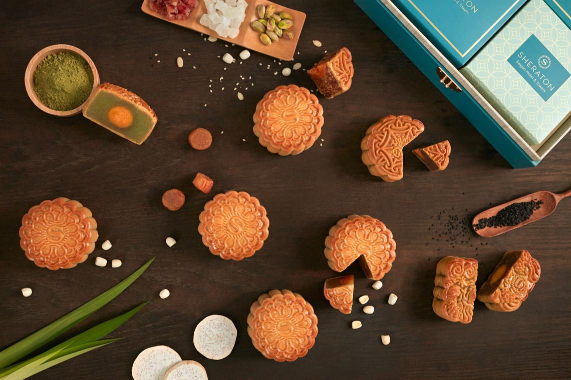 Sheraton Saigon ra mắt Bộ sưu tập bánh Trung thu năm 2021
