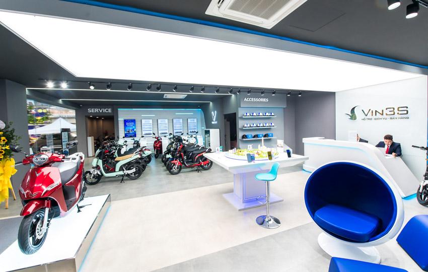 VinFast đồng loạt khai trương 35 showroom xe máy điện kết hợp trung tâm trải nghiệm Vin3S-4