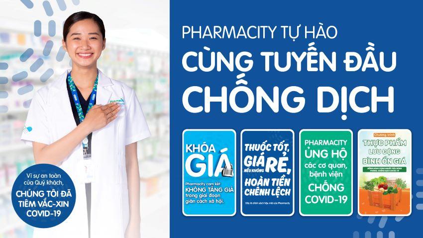 Pharmacity phòng chống Covid-19