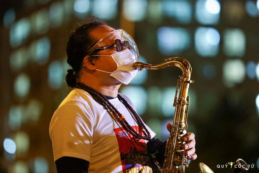 Buổi biểu diễn đặc biệt cuả nghệ sĩ saxophone Trần Mạnh Tuấn