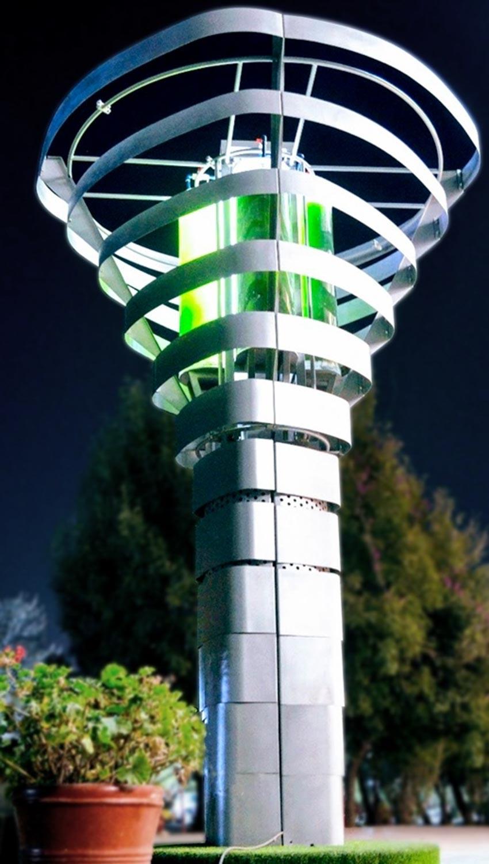 Cây nhân tạo giúp thanh lọc không khí của các thành phố - 1