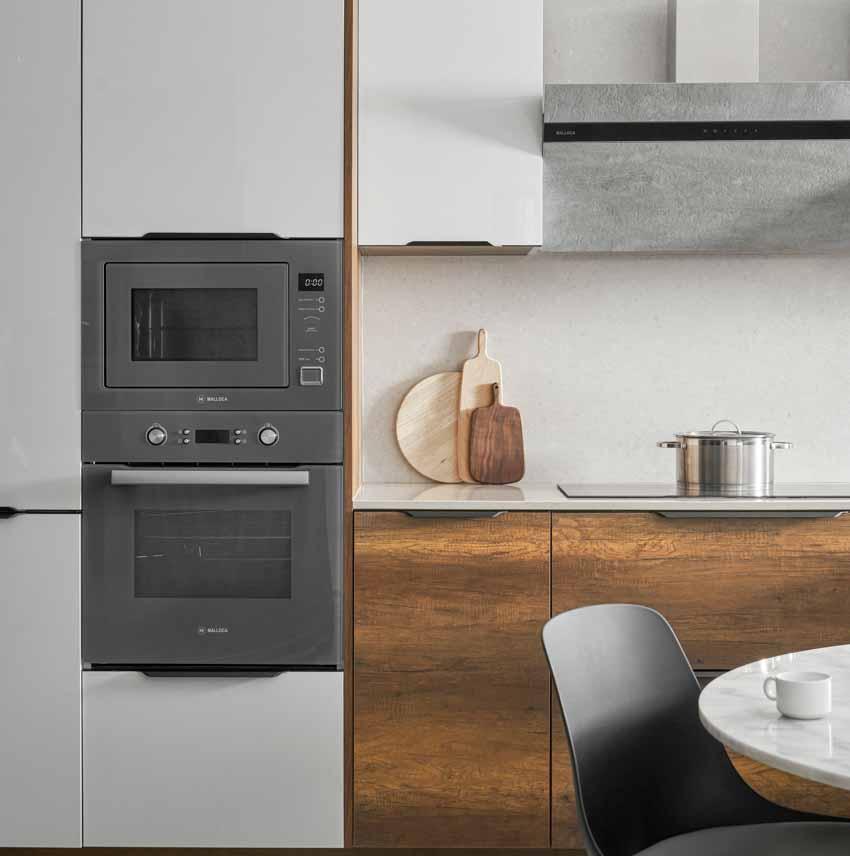 Thiết kế căn bếp hiện đại và mạnh mẽ - 2