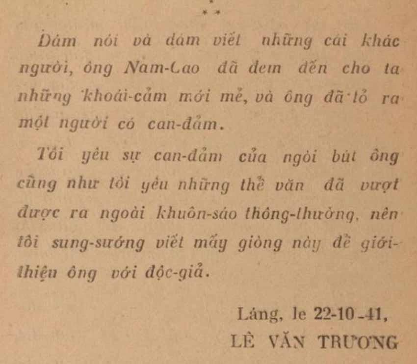 Viết lời tựa 'Đôi lứa xứng đôi' của Nam Cao: Lê Văn Trương 'dự báo' những gì? - 4
