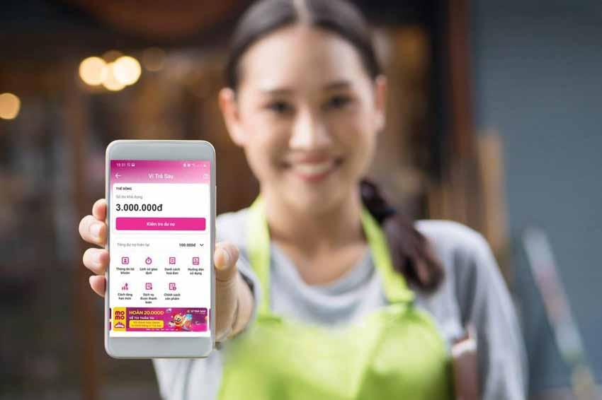 Ví điện tử MoMo ra mắt Ví trả sau hạn mức tối đa 5 triệu đồng -