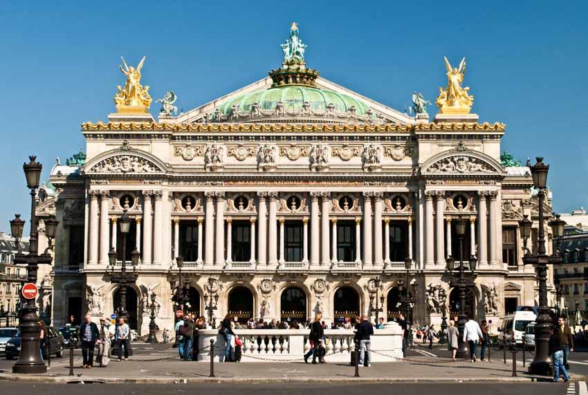 Chiêm ngưỡng nghệ thuật đẳng cấp tại nhà hát Opéra Paris - 1