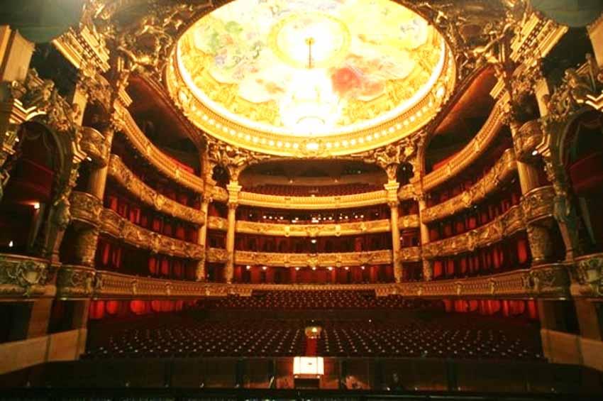 Chiêm ngưỡng nghệ thuật đẳng cấp tại nhà hát Opéra Paris - 5