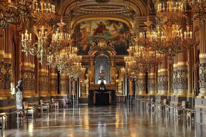 Chiêm ngưỡng nghệ thuật đẳng cấp tại nhà hát Opéra Paris - 7