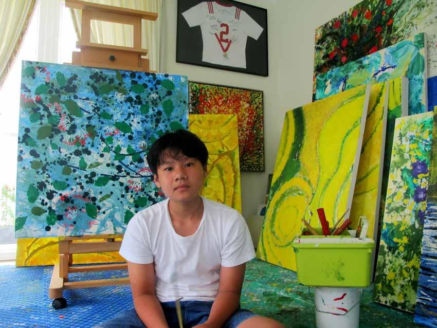 Xèo Chu – hoạ sĩ Việt Nam 14 tuổi kiếm nửa tỷ đồng từ một bức tranh NFT dạng mã hóa - 3