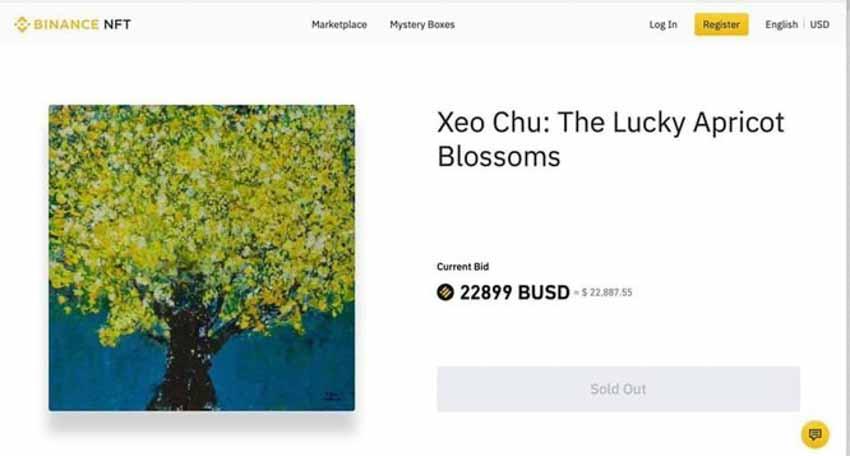 Xèo Chu – hoạ sĩ Việt Nam 14 tuổi kiếm nửa tỷ đồng từ một bức tranh NFT dạng mã hóa - 5