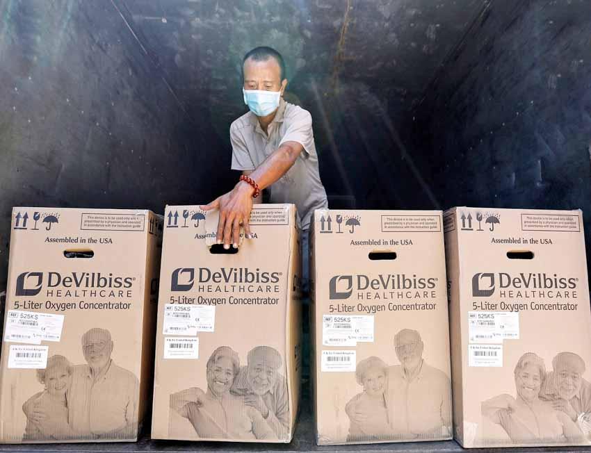 Diageo ủng hộ thiết bị y tế phòng chống dịch Covid-19 - 2