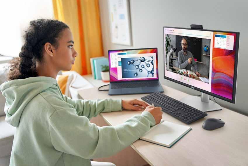 Dell ra mắt các mẫu màn hình mới phục vụ cho hội thoại trực tuyến phù hợp với thời điểm hiện tại - 2
