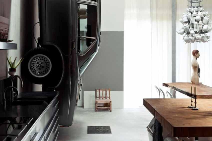 20 ý tưởng trang trí nội thất lấy cảm hứng từ ôtô dành cho người hâm mộ ôtô - 79