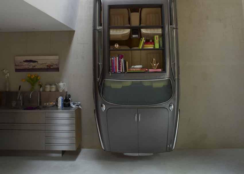 20 ý tưởng trang trí nội thất lấy cảm hứng từ ôtô dành cho người hâm mộ ôtô - 78