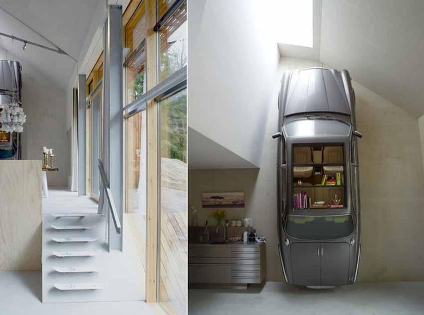 20 ý tưởng trang trí nội thất lấy cảm hứng từ ôtô dành cho người hâm mộ ôtô - 77