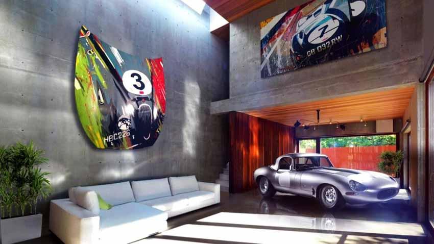 20 ý tưởng trang trí nội thất lấy cảm hứng từ ôtô dành cho người hâm mộ ôtô - 81