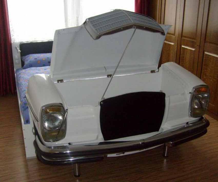 20 ý tưởng trang trí nội thất lấy cảm hứng từ ôtô dành cho người hâm mộ ôtô - 85