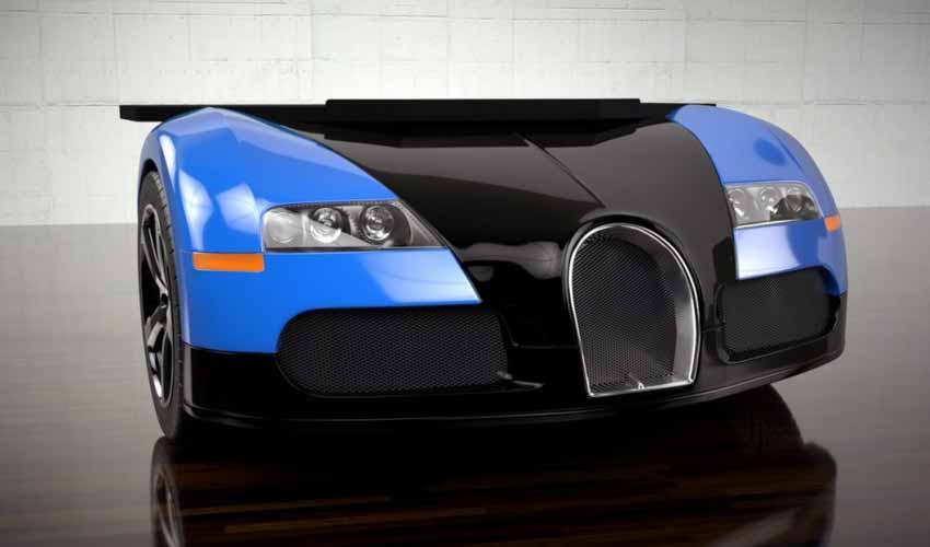 20 ý tưởng trang trí nội thất lấy cảm hứng từ ôtô dành cho người hâm mộ ôtô - 16