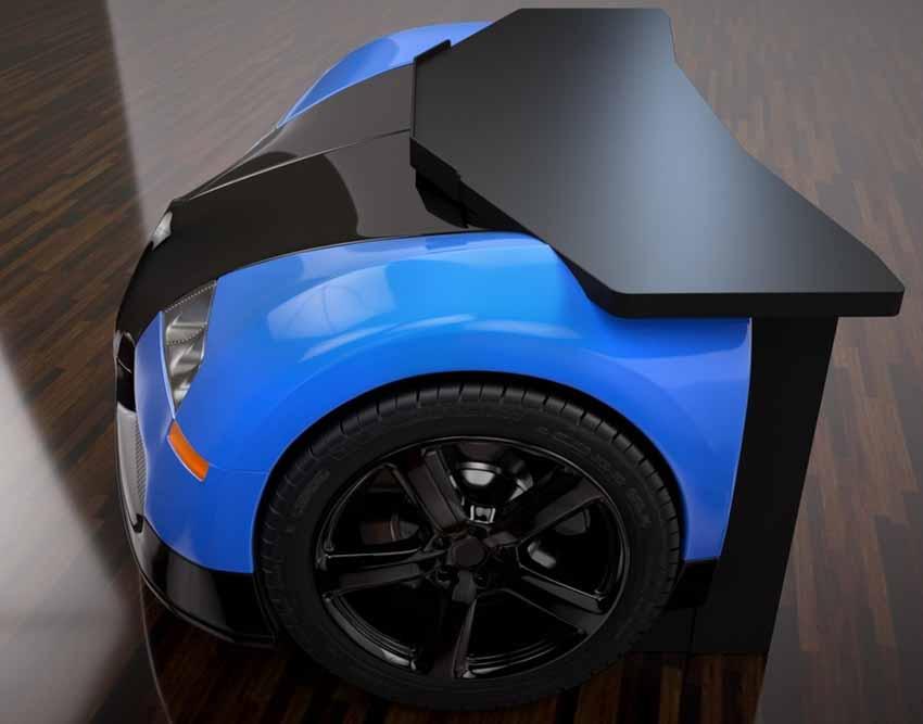 20 ý tưởng trang trí nội thất lấy cảm hứng từ ôtô dành cho người hâm mộ ôtô - 17