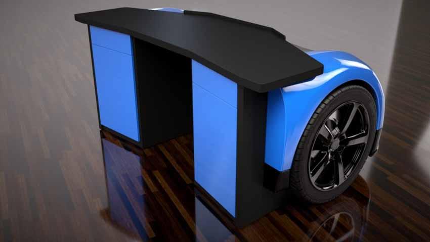 20 ý tưởng trang trí nội thất lấy cảm hứng từ ôtô dành cho người hâm mộ ôtô - 18