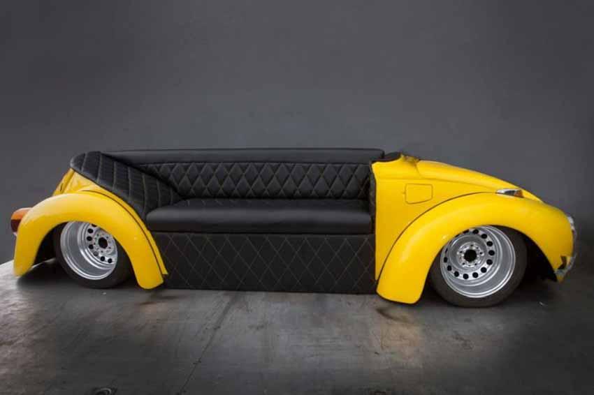 20 ý tưởng trang trí nội thất lấy cảm hứng từ ôtô dành cho người hâm mộ ôtô - 50