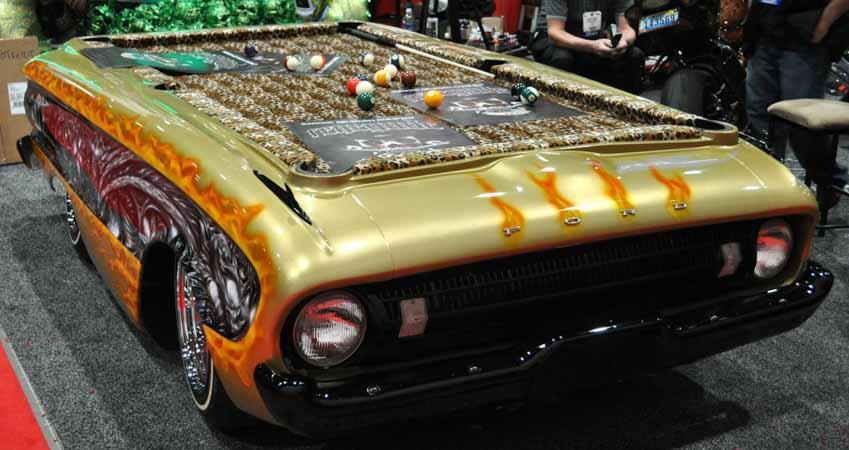 20 ý tưởng trang trí nội thất lấy cảm hứng từ ôtô dành cho người hâm mộ ôtô - 35