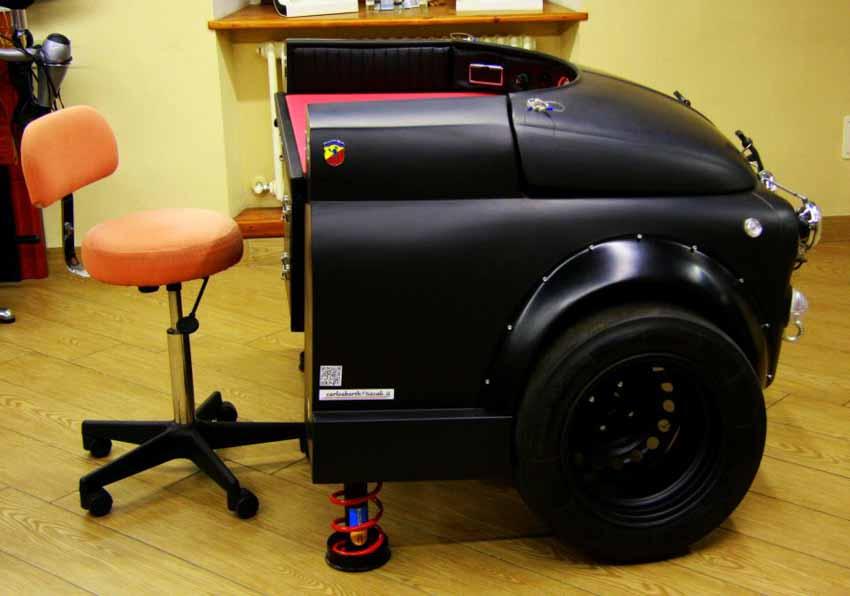 20 ý tưởng trang trí nội thất lấy cảm hứng từ ôtô dành cho người hâm mộ ôtô - 62