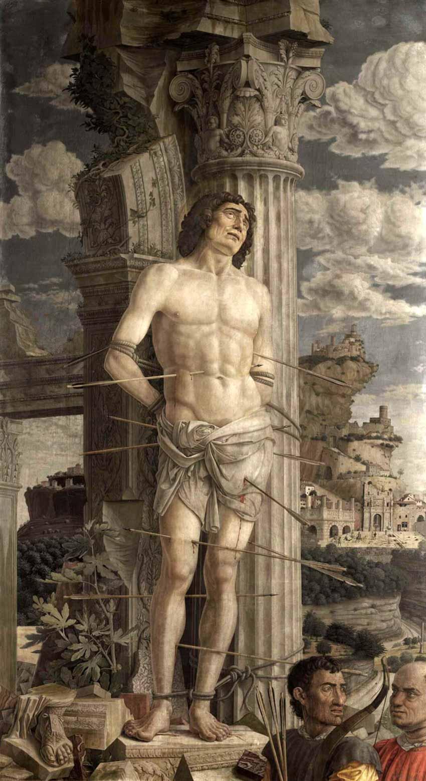 Bí kíp trong tranh Andrea Mantegna, danh họa thời Phục Hưng - 3
