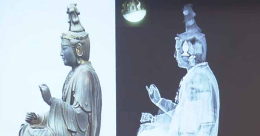 Những vật lạ tìm thấy trong các pho tượng - 8