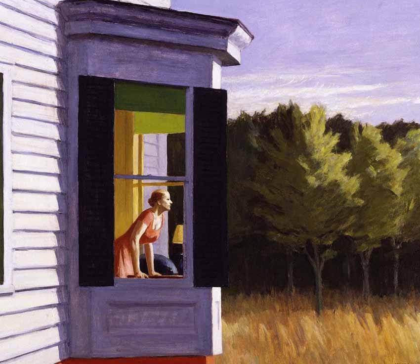 Edward Hopper, họa sĩ hàng đầu của nước Mỹ - 7