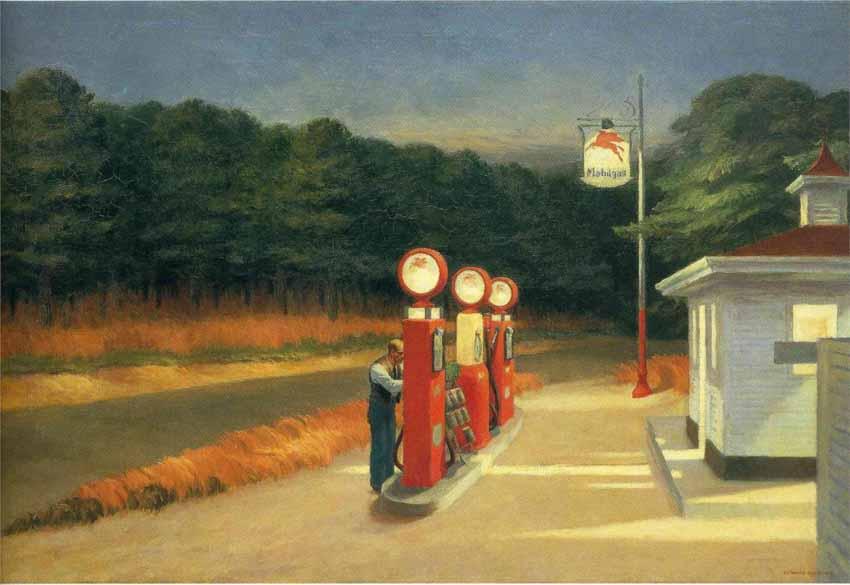Edward Hopper, họa sĩ hàng đầu của nước Mỹ - 1