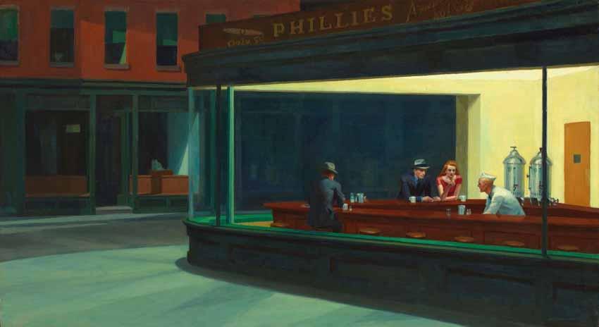 Edward Hopper, họa sĩ hàng đầu của nước Mỹ - 2