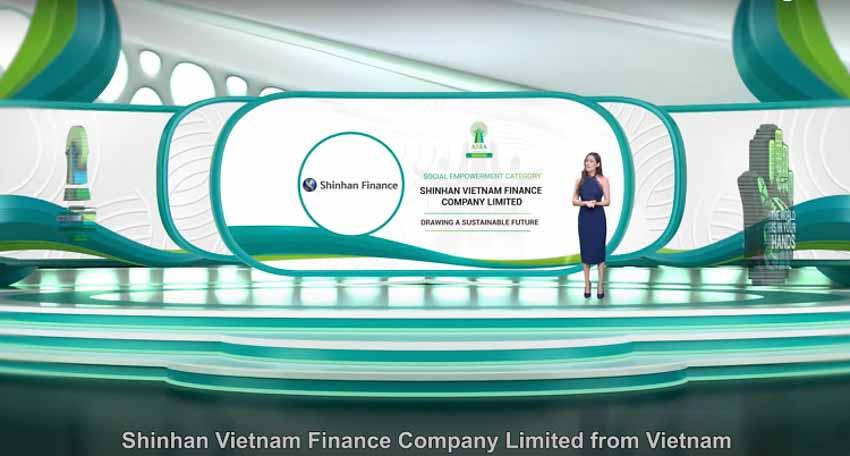 Shinhan Finance được vinh danh 'Doanh nghiệp trách nhiệm Châu Á 2021' - 2