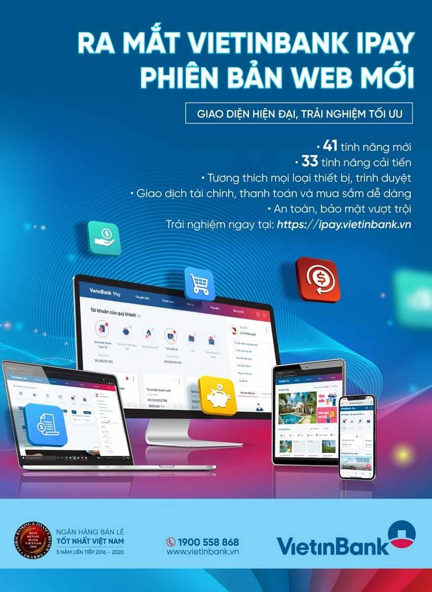 Ra mắt VietinBank iPay phiên bản Web mới - 1