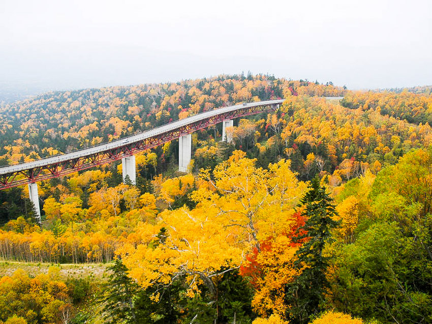 Đèo Mikuni, Hokkaido
