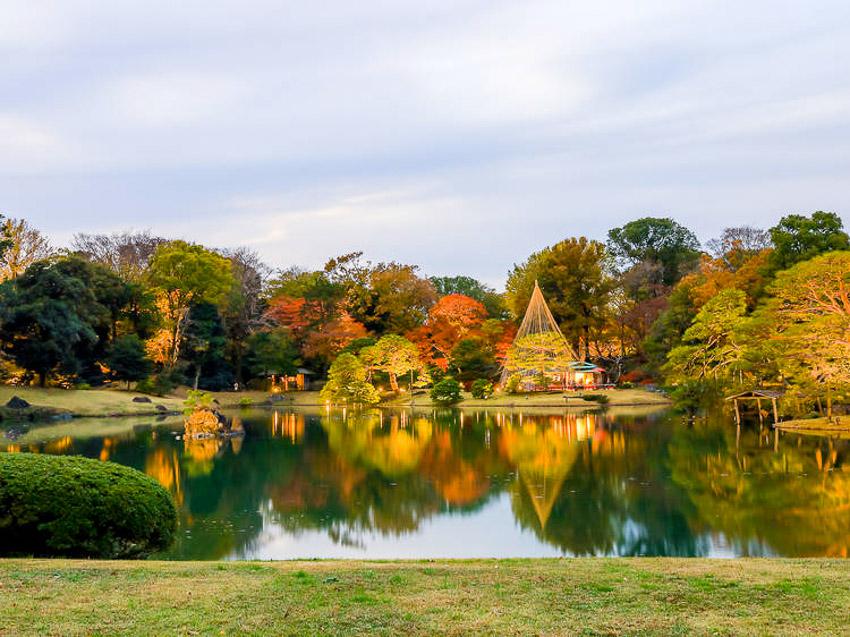 Vườn Rikugien, Tokyo