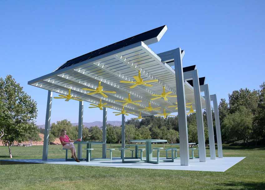 Nhà mát sử dụng năng lượng mặt trời - 3