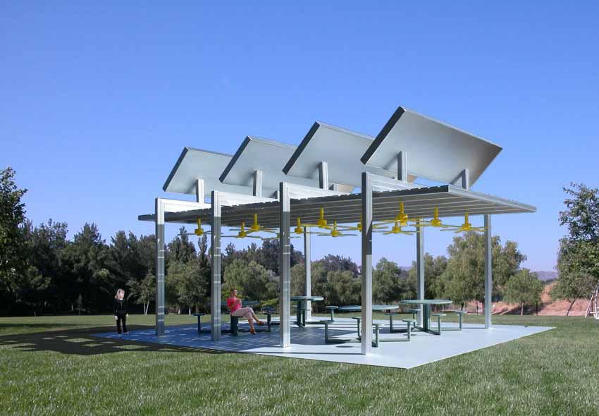Nhà mát sử dụng năng lượng mặt trời - 4