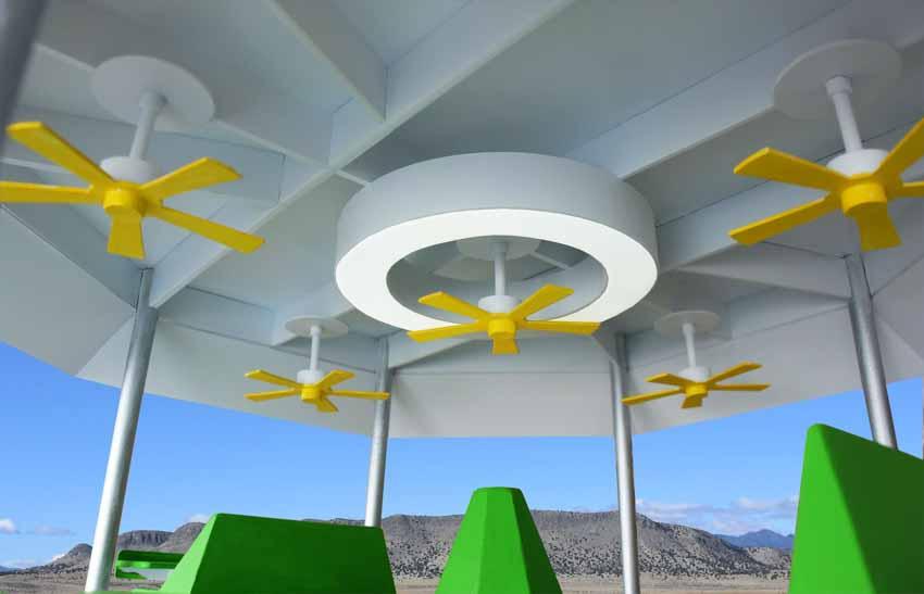 Nhà mát sử dụng năng lượng mặt trời - 8