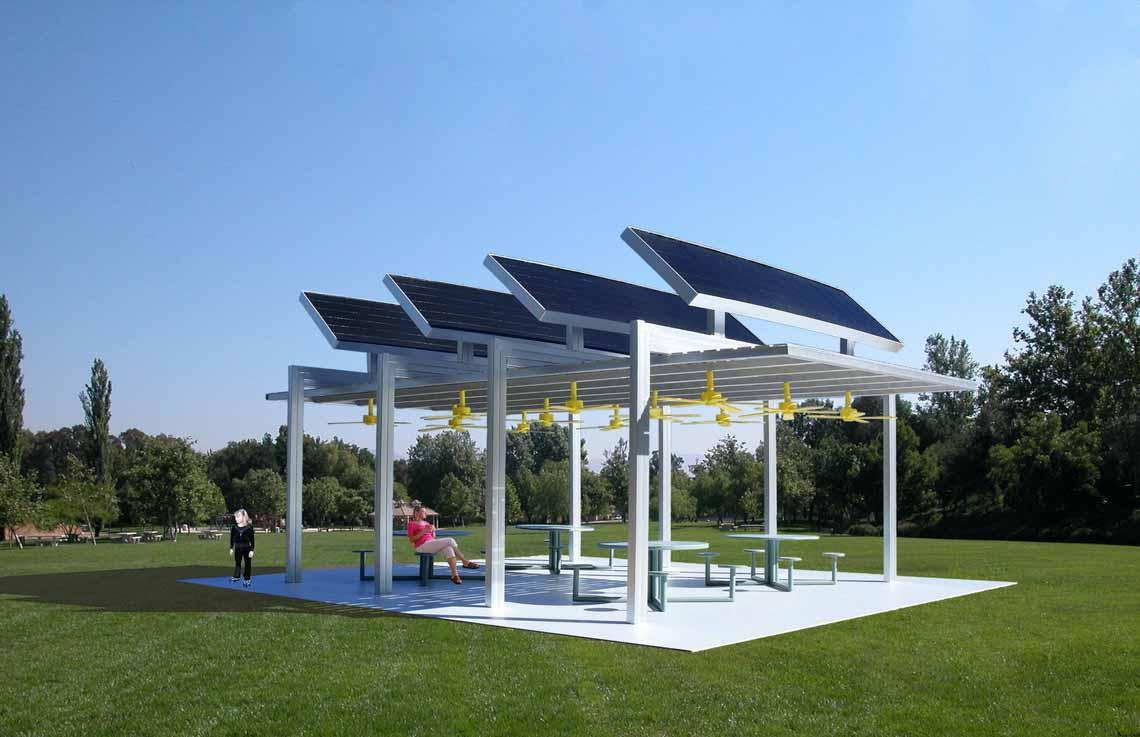 Nhà mát sử dụng năng lượng mặt trời -14